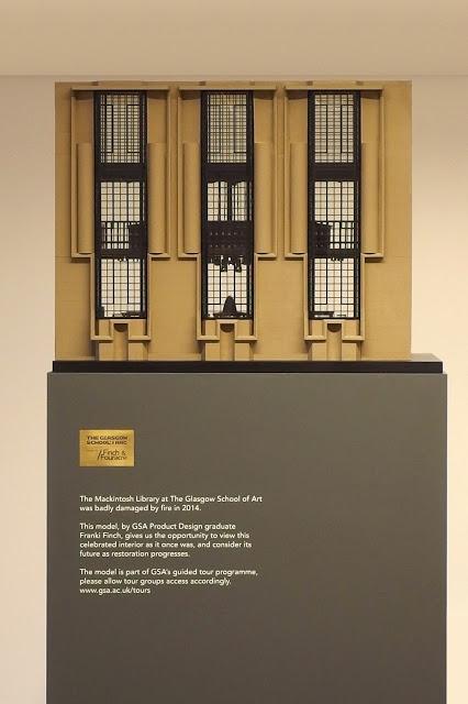 Finch Fouracre Model Making Glasgow School Of Art Mackintosh Library Model