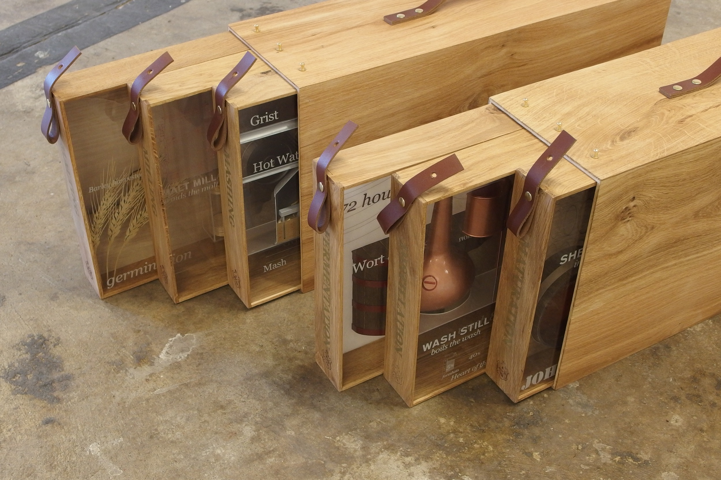 The two new Distillery Boxes