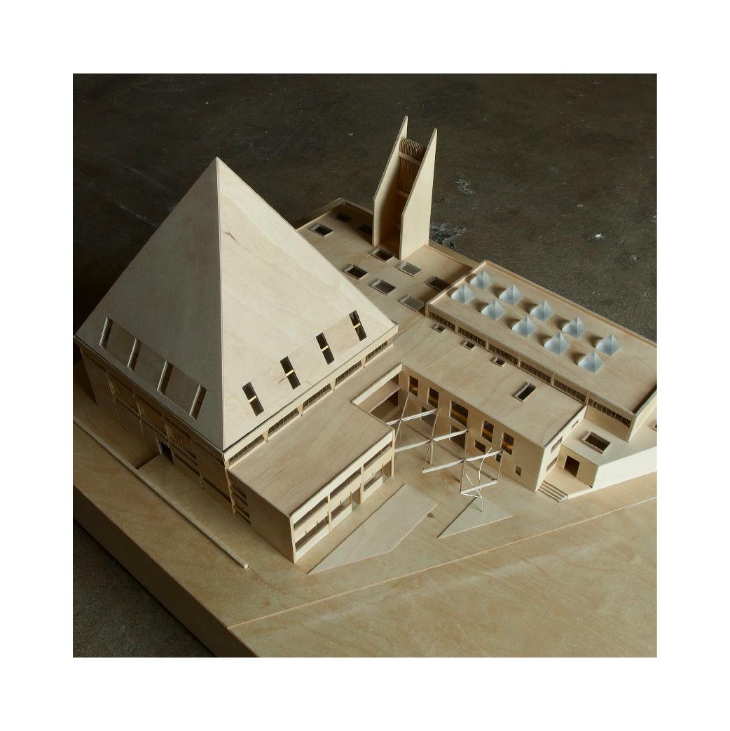 Church timber model