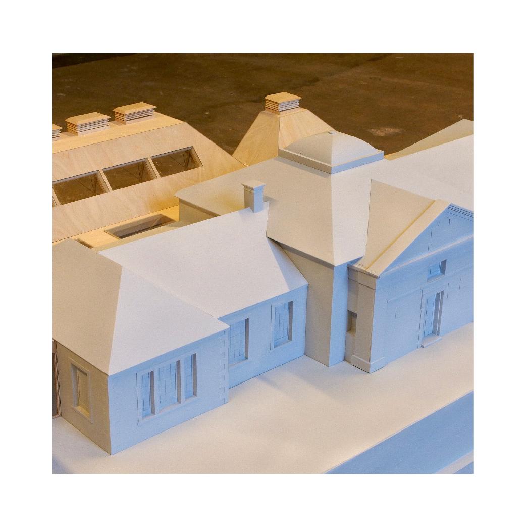 Edinburgh Academy timber model