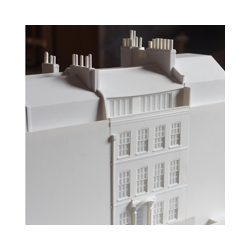 Fournier St historic model