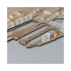 Graving Docks timber model