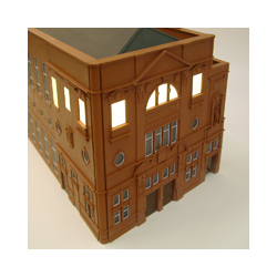 Kingston Halls architectural model