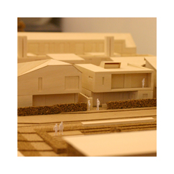 Highland Housing Fair timber model