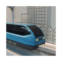 Maglev train interactive model