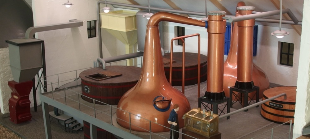 Scotch Whisky Experience Distillery