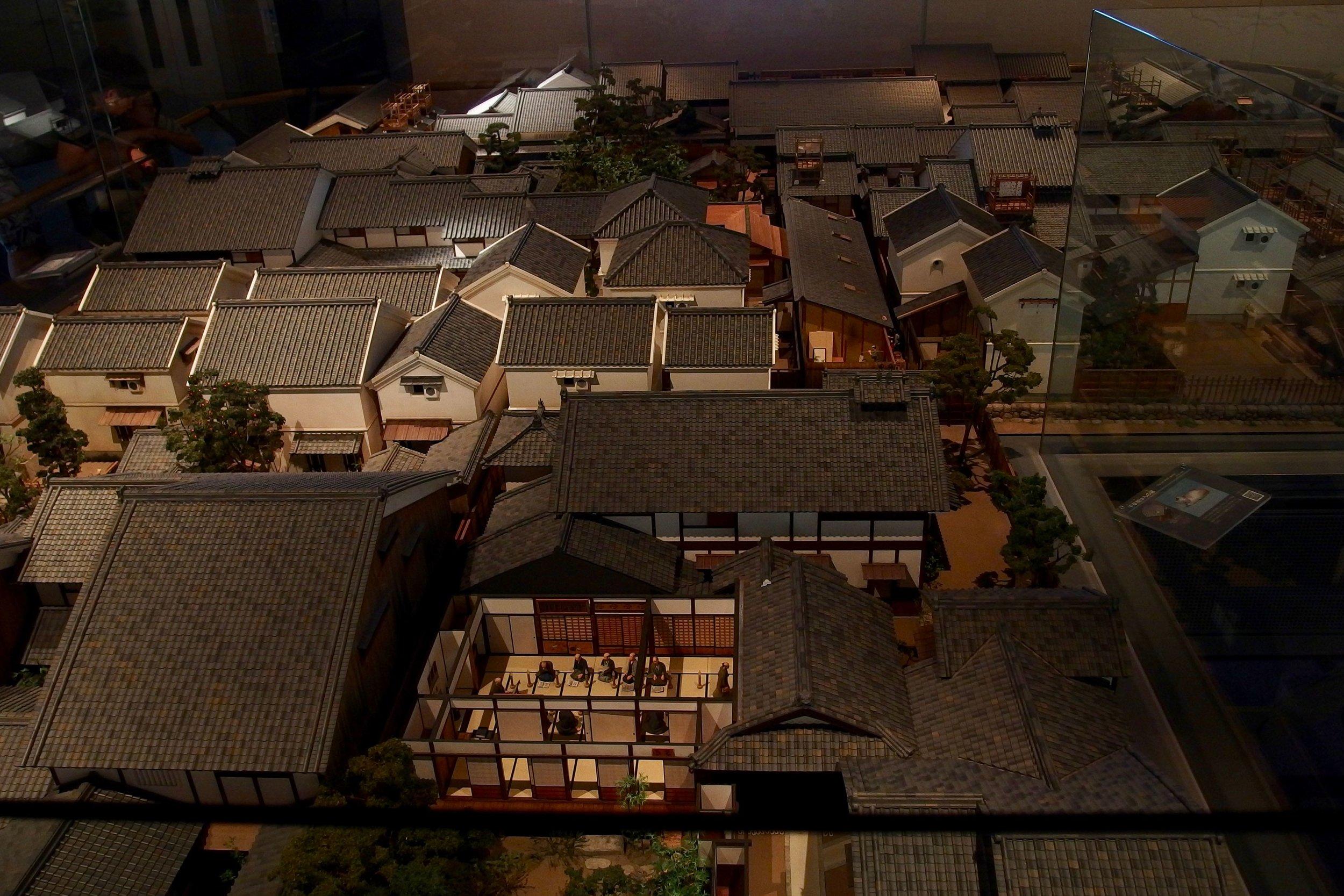 osaka museum of history model housing.jpg