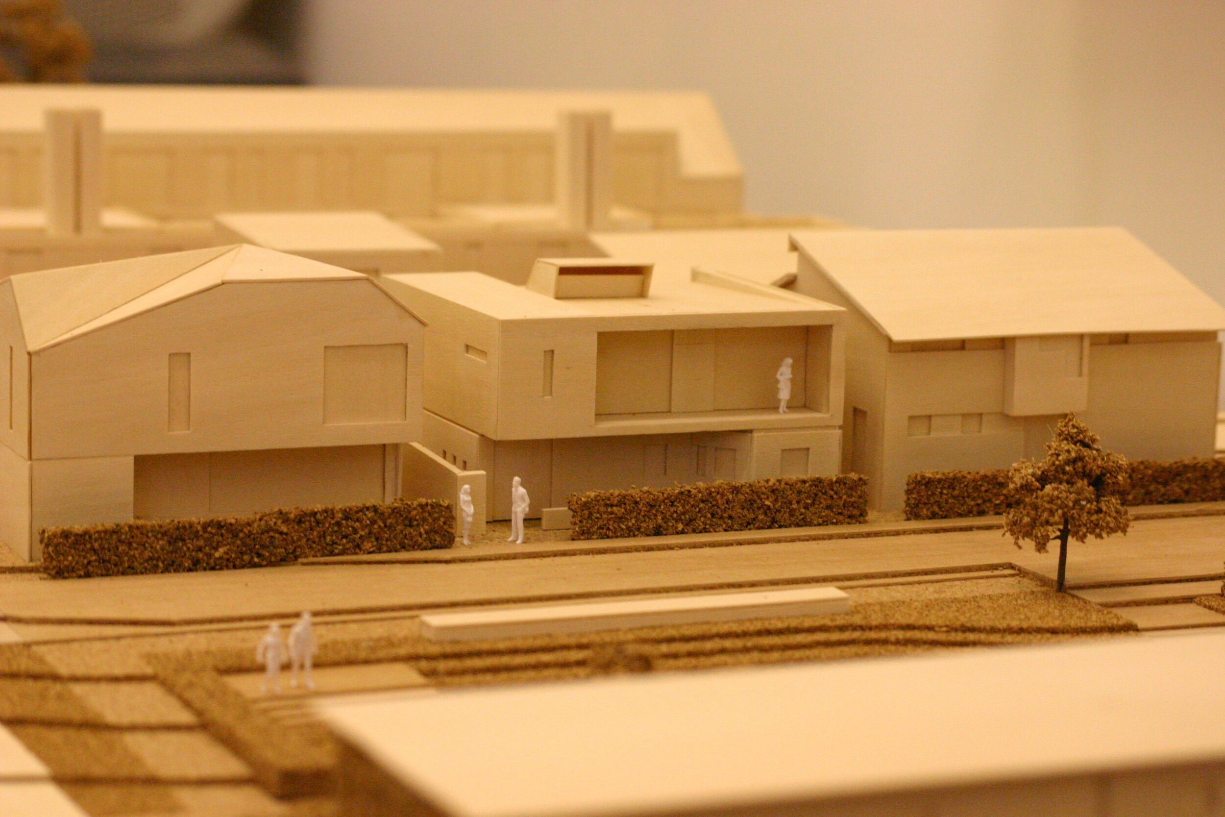 One of the early Finch & Fouracre models for NORD Architecture