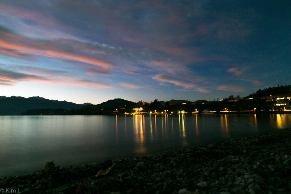 Lake Wanaka at Dusk