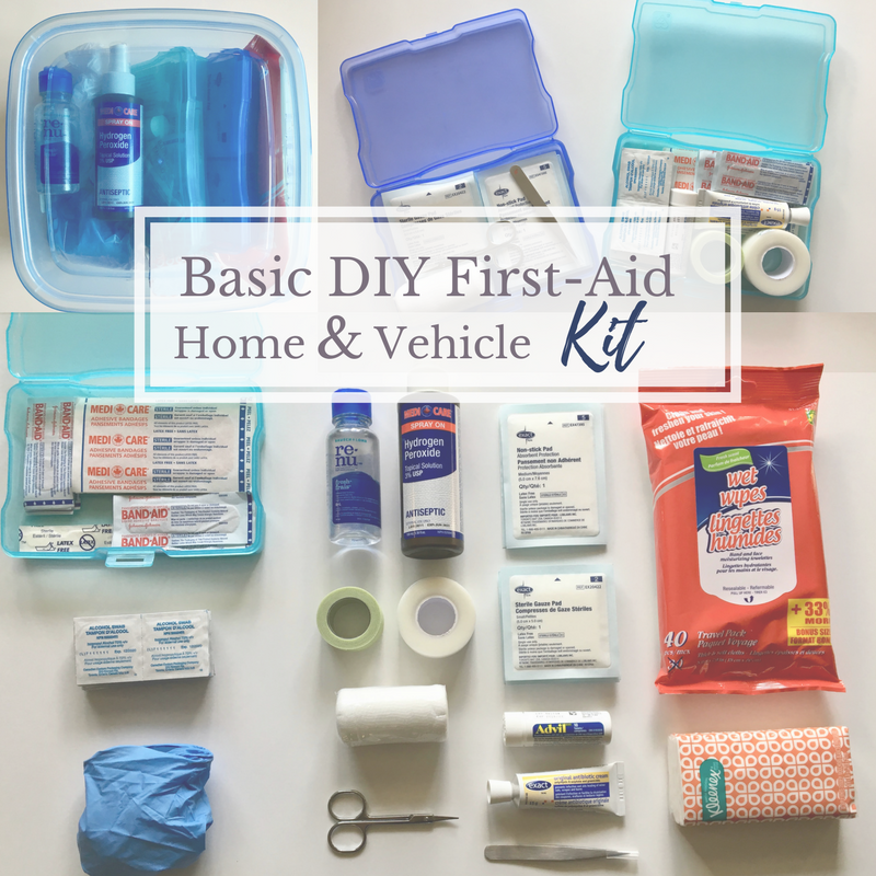 DIY First -Aid Kit For Home And Vehicle