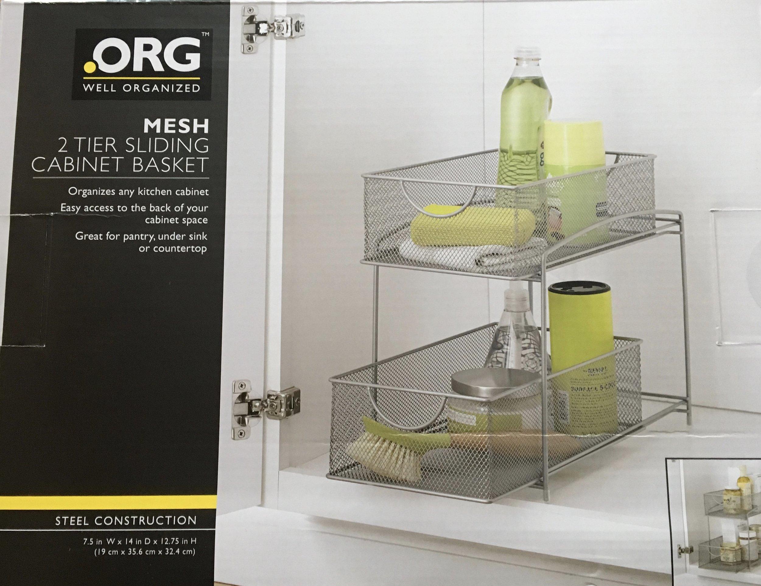 Under Sink Cabinet Basket