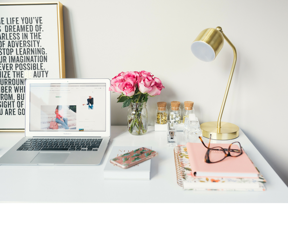 weekly office declutter