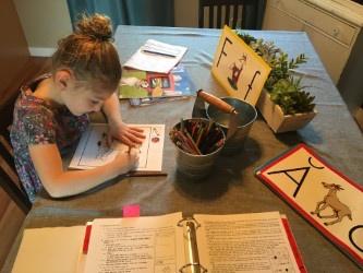 kindergarten+homeschool