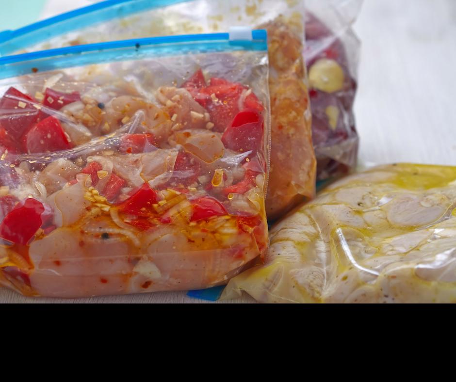 assemble freezer meals