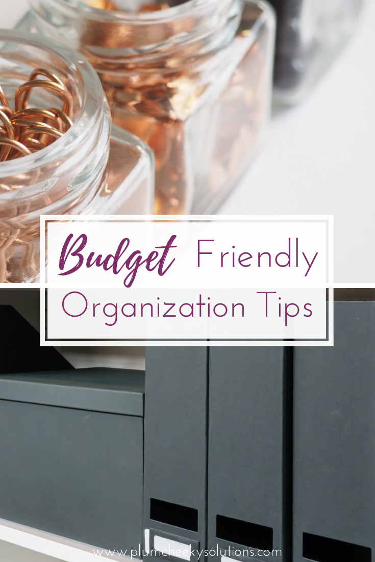 Budget Friendly Organization Hacks