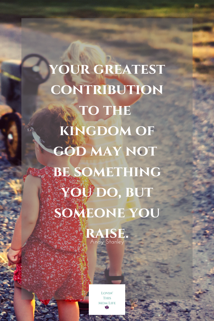 your greatest contribution to the Kingdom of God-Andy Stanley quote