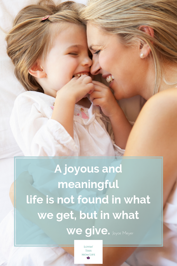 a joyous and meaningful life-Joyce Meyer quote