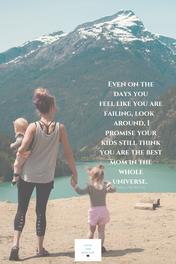 even on the days-motherhood quote