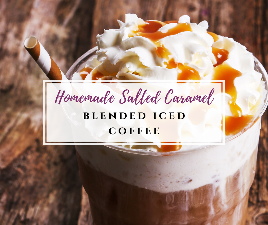 Best Salted Caramel Blended Iced Coffee