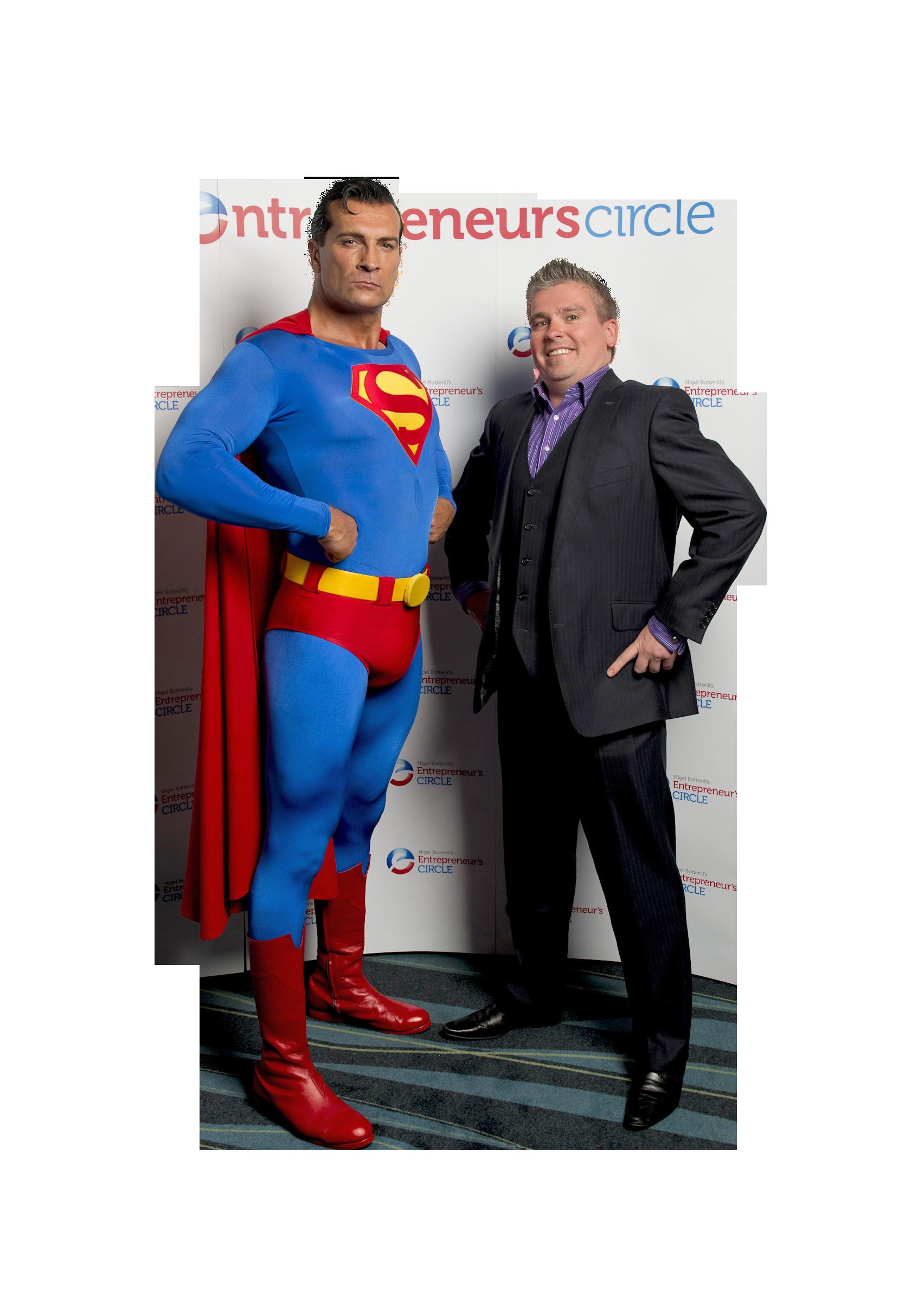 David & Superman