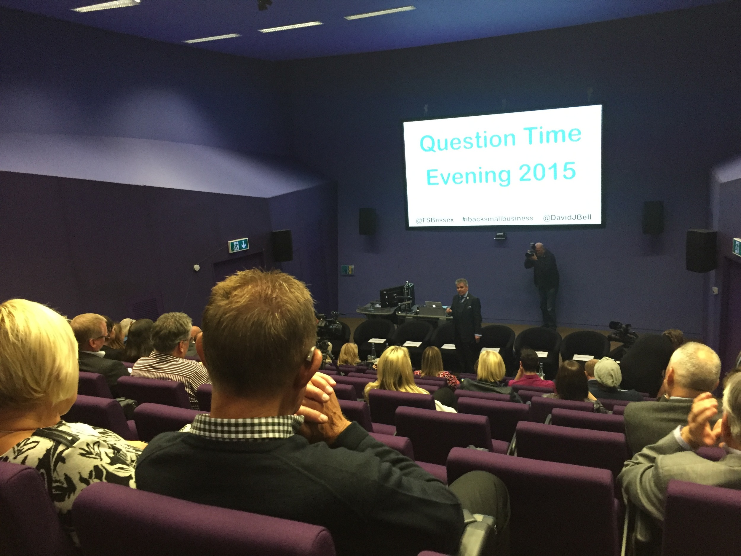 QuestionTime audience getting ready