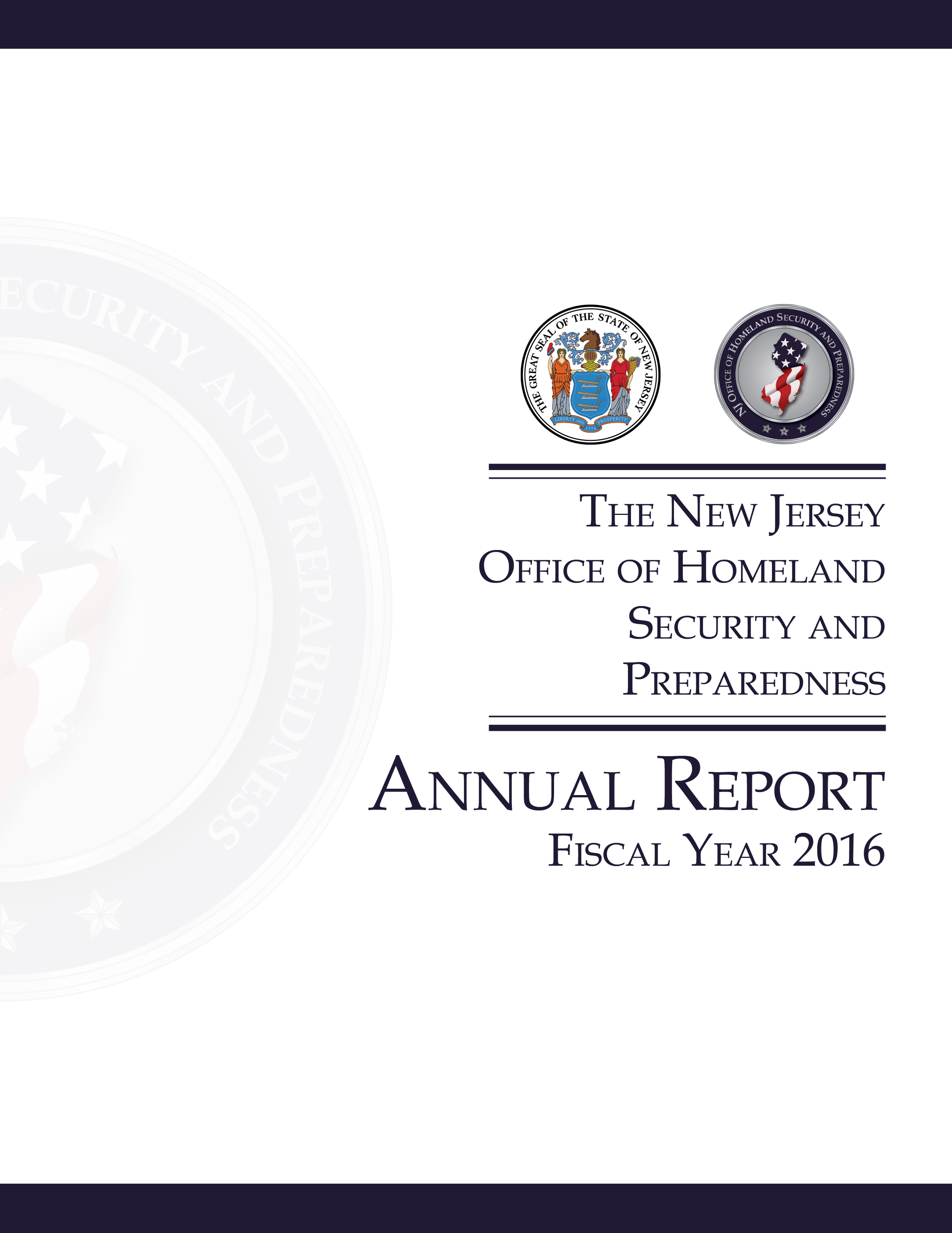 NJOHSP Annual Report Fiscal Year 2016 Coverpage.png