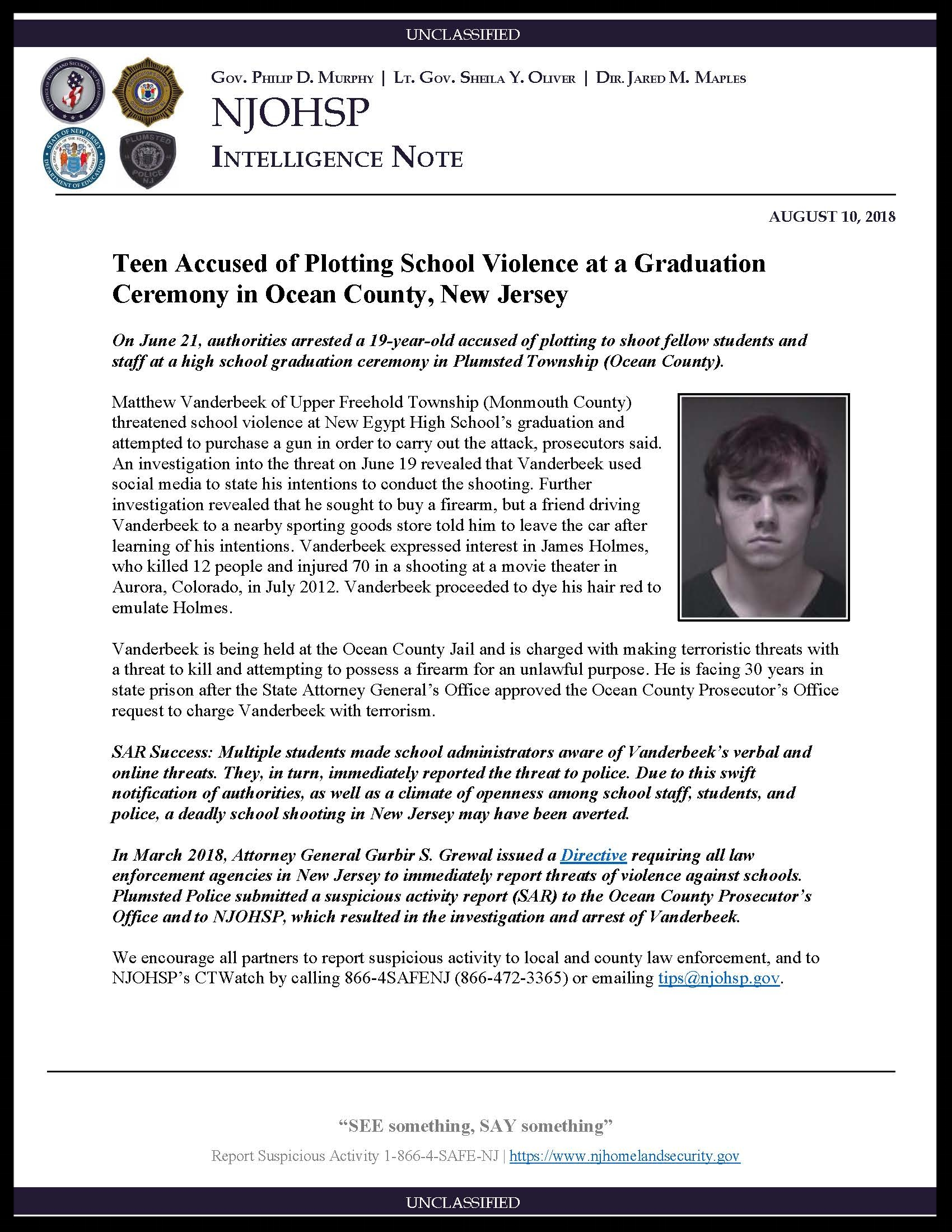 School Violence Plot Averted in Ocean County New Jersey.jpg
