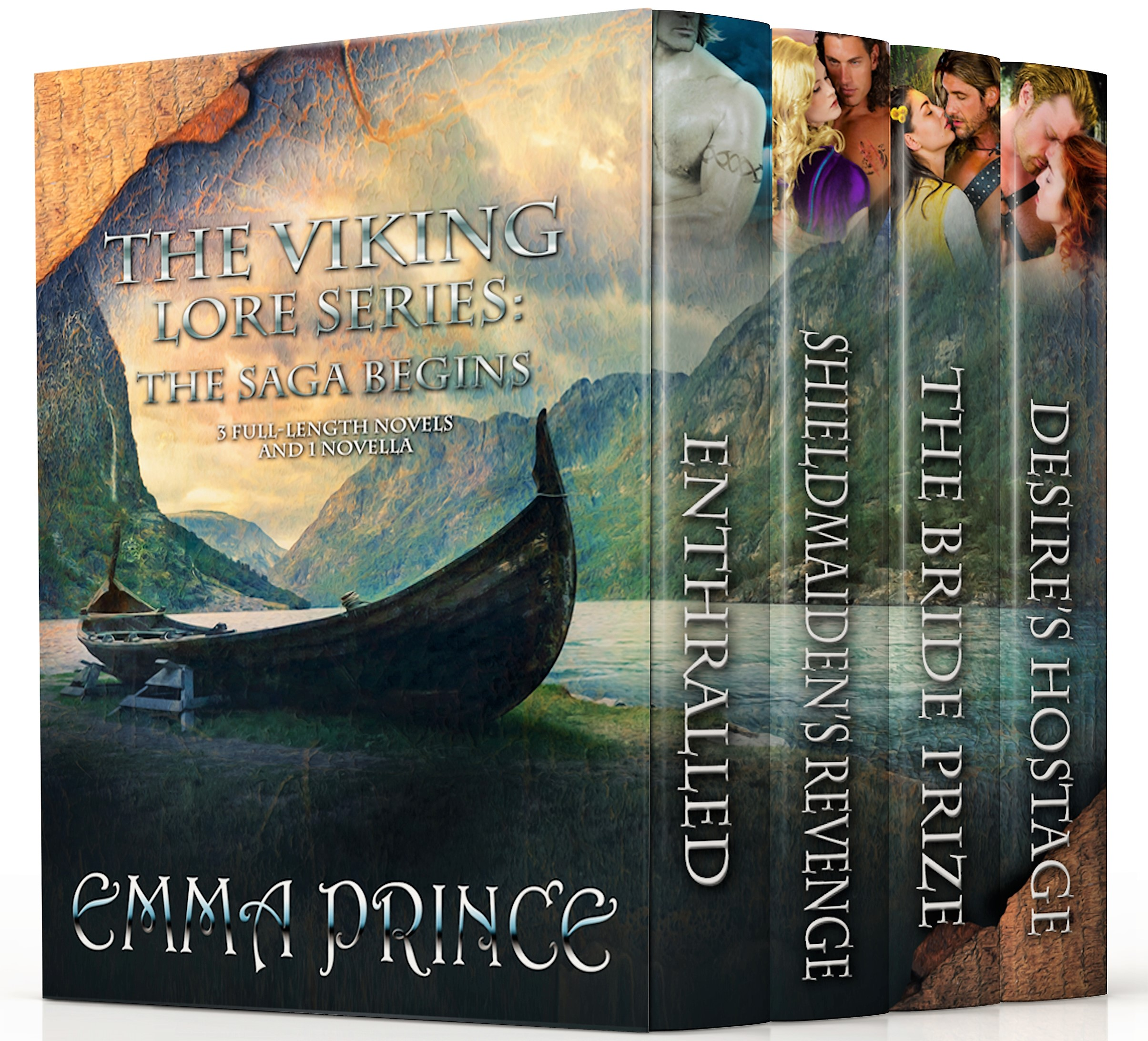 The Viking Lore Series (Books 1, 2, 2.5, 3)