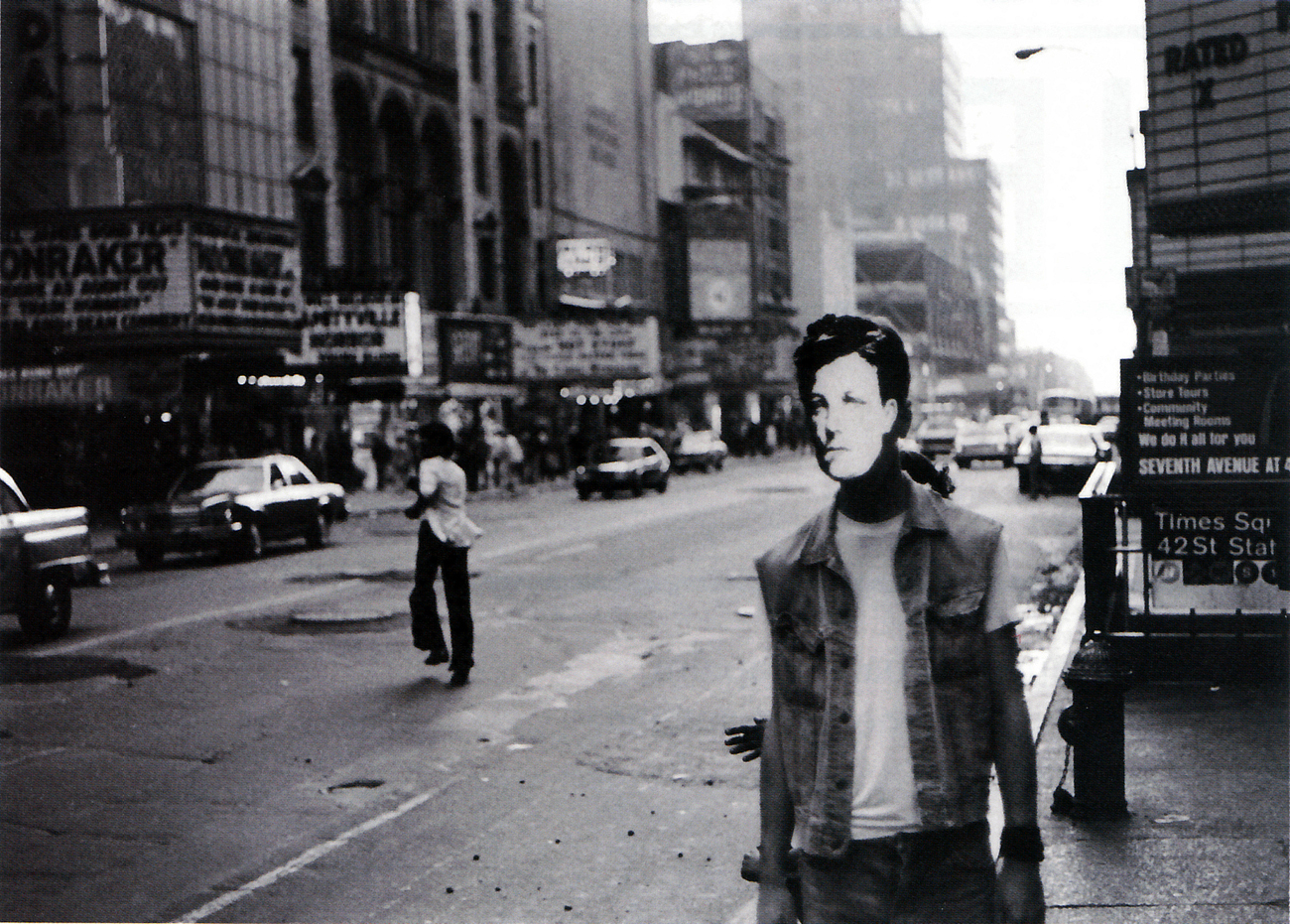 David Wojnarowicz, Arthur Rimbaud in New York, 1978-9, gelatin silver print on paper.