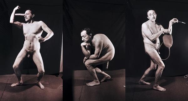 Boris Mikhailov, I Am not I, 1992, Photograph,prints mounted on paper.