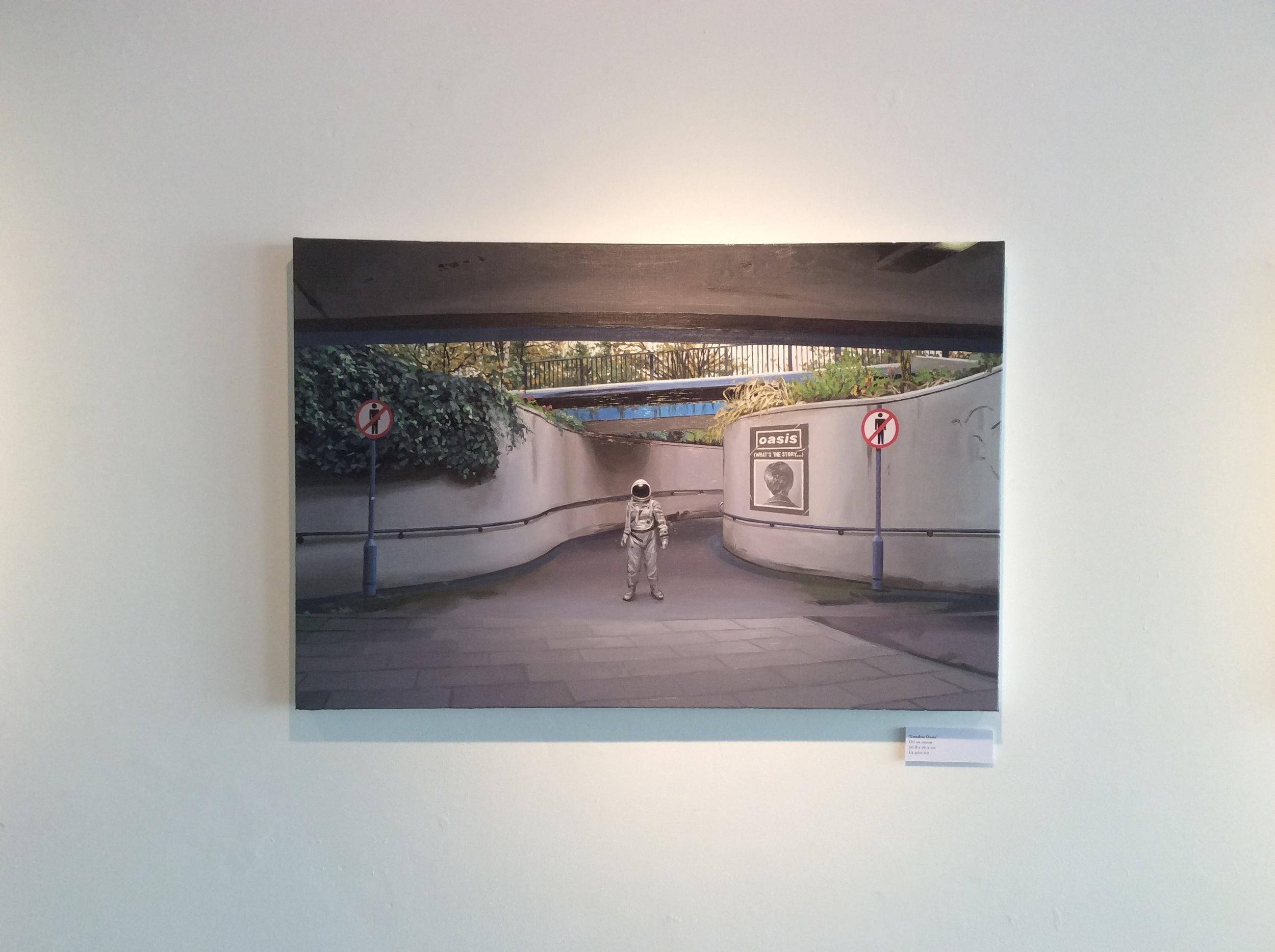 Scott Listfield, London Oasis, c.2016, Oil on canvas.
