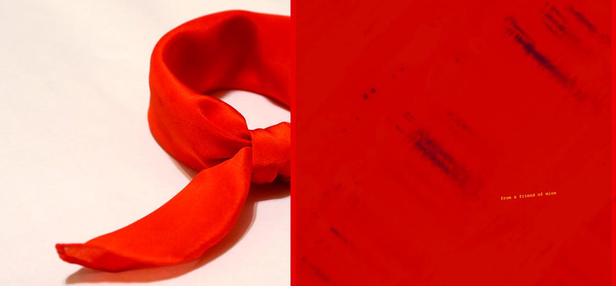 buy beautiful luxury red silk scarf from a friend of mine bandana online paris taipei tokyo 贅沢なシルクスカーフ 10 corso como istean saks fifth avenue vogue