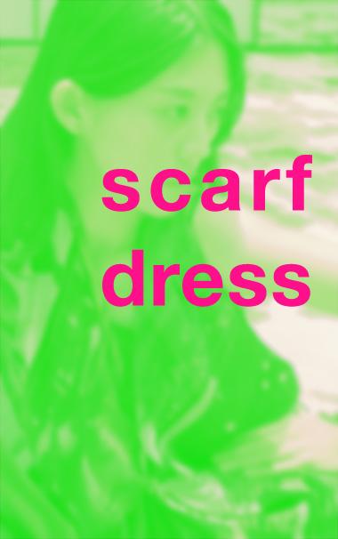 luxury silk scarf dress from a friend of mine paris taipei tokyo