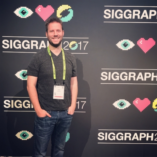 Eric Miller at SIGGRAPH 2017!