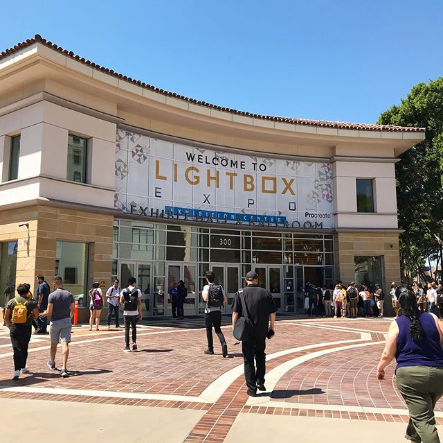 Had a wonderful time at the LightBox animation Expo. It was great running into friends and meeting new ones. See you all next year! #lightbox #animation