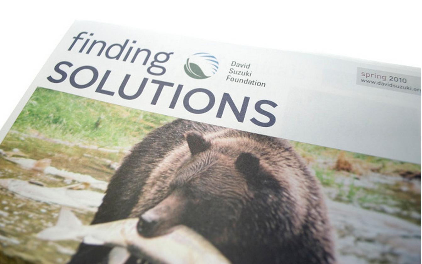 David Suzuki Foundation Newsletter -