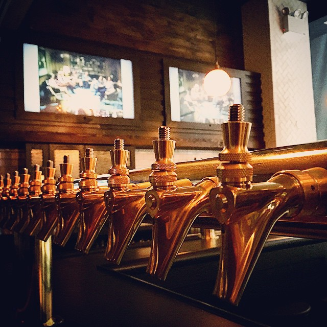 Ready for tap handles. #nyavd #nyc #nyavdcrew #beertaps #customtv #custominstall #choosetherightcompany #beer #sportsbar #citylife