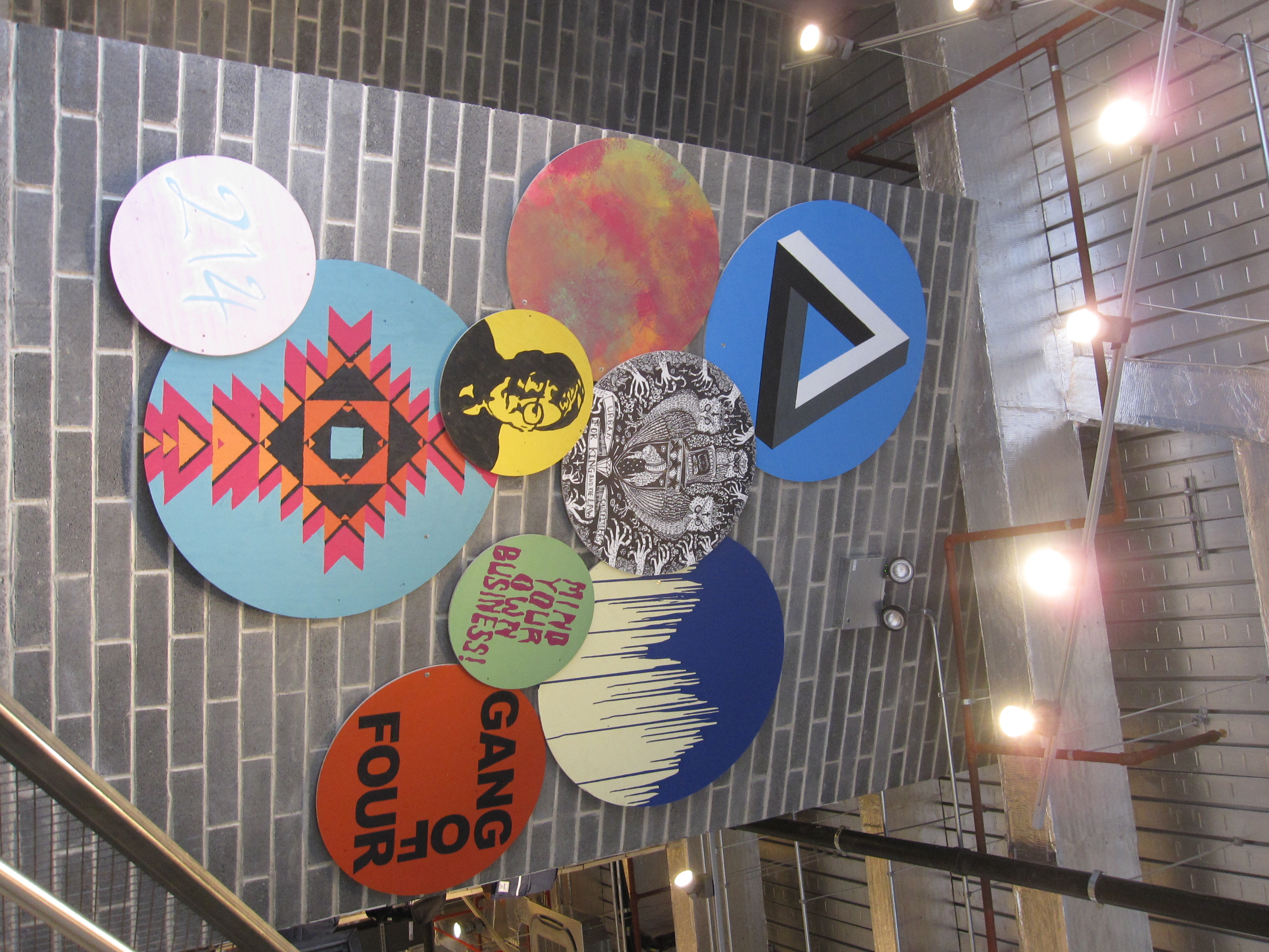 Urban Outfitters Europe: Badge Wall