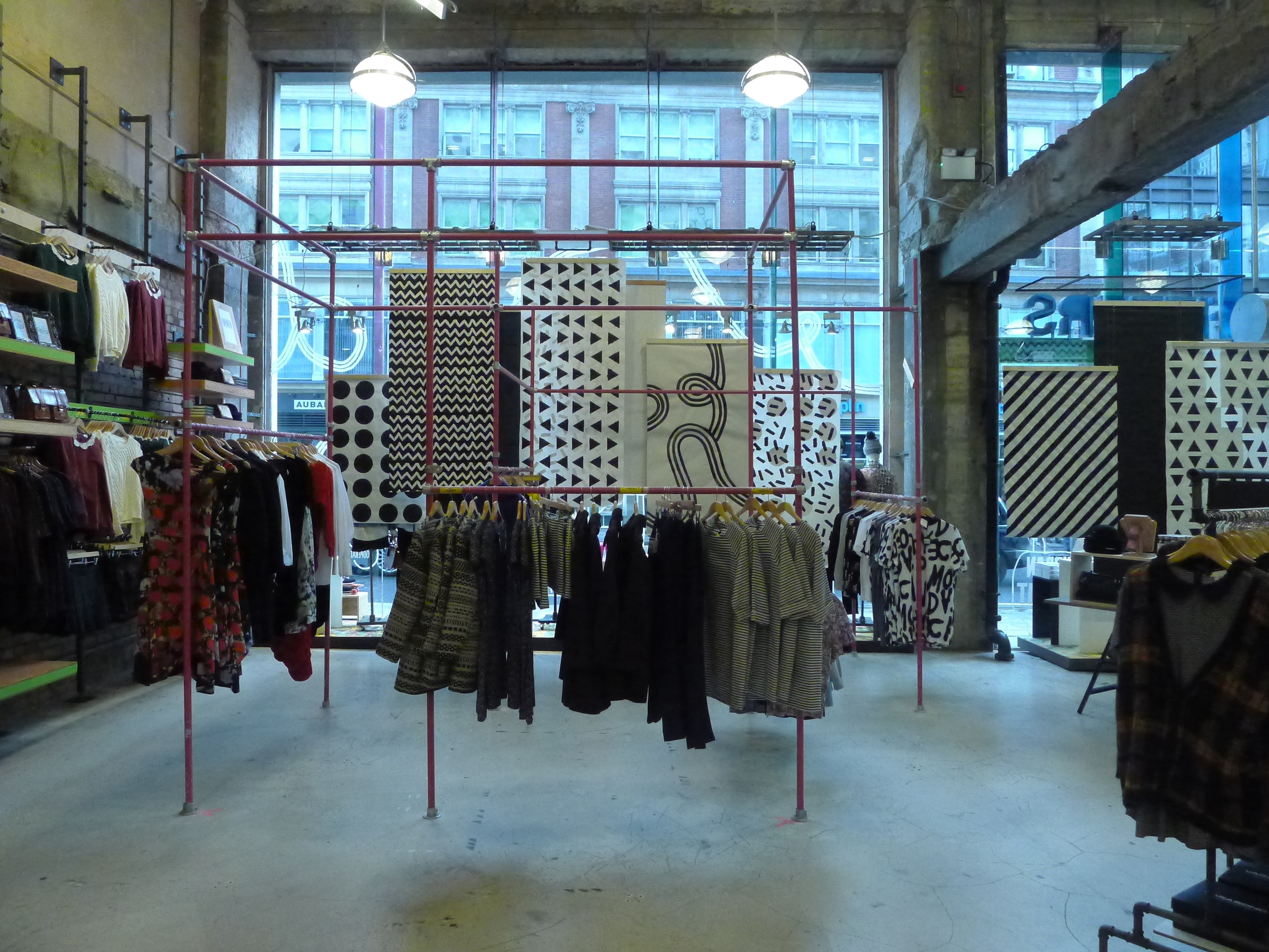 Urban Outfitters Europe: Scaffolding Structure