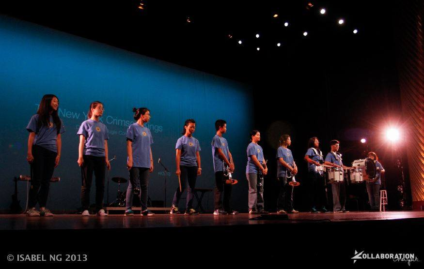 On stage at the NYU Skirball Center for Kollaboration 2013