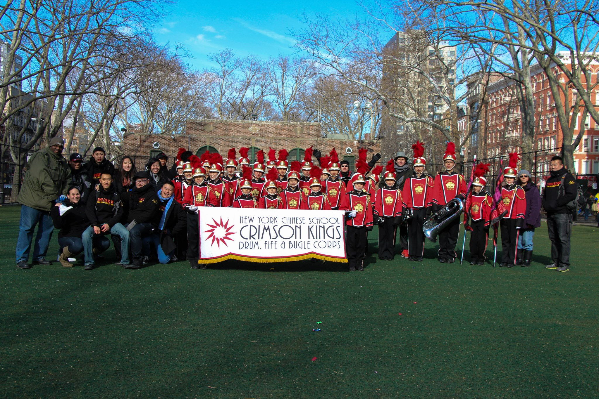 After the 2012 Chinese New Year Parade at Sara D. Roosevelt Park