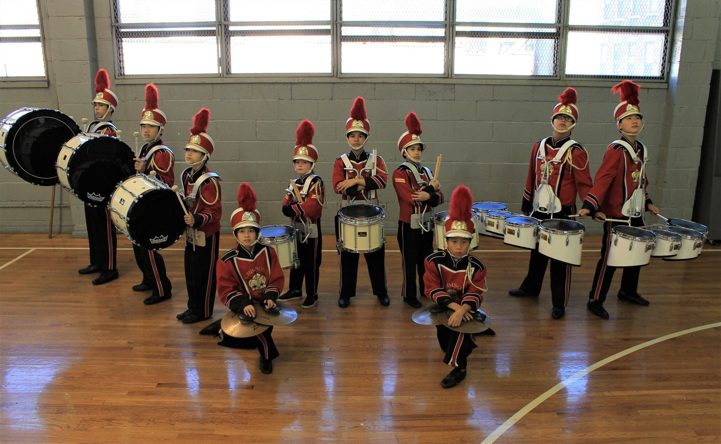 2018 Drum Line
