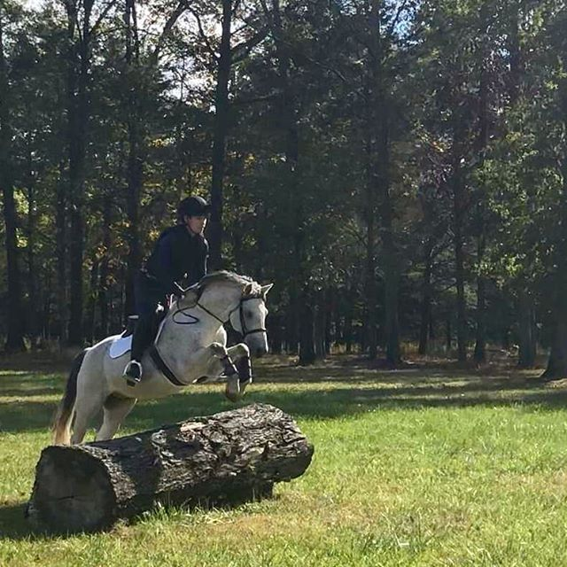 @andylinderman and Tally flying high out in the RTF XC field this weekend!  #ponypower