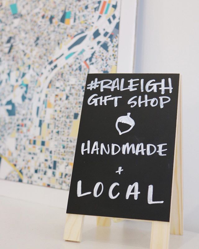 Did you know you can shop local makers ANYTIME (okay, nearly anytime) at @houseofswank?! In their new #RaleighGiftShop you can find wares from @wicksforwags, @lelunastar, @xena_electra, @youngblood_made, @skp_ink, @dumpsterfirecandle, @posymarket, @cottagelanekitchen, @oakcitysoap, @parmar_media, + more!!! Behind the scenes, I've helped round up some of our area faves in collaboration with John + Jess — we're now a month in + looking forward to adding more!  If you're interested in being featured in the shop, email me at kristin@raleighmm.com.  And in the meantime, swing by #HouseofSwank for cool tees + #Raleighmade gifts!  Cheers! ✌️