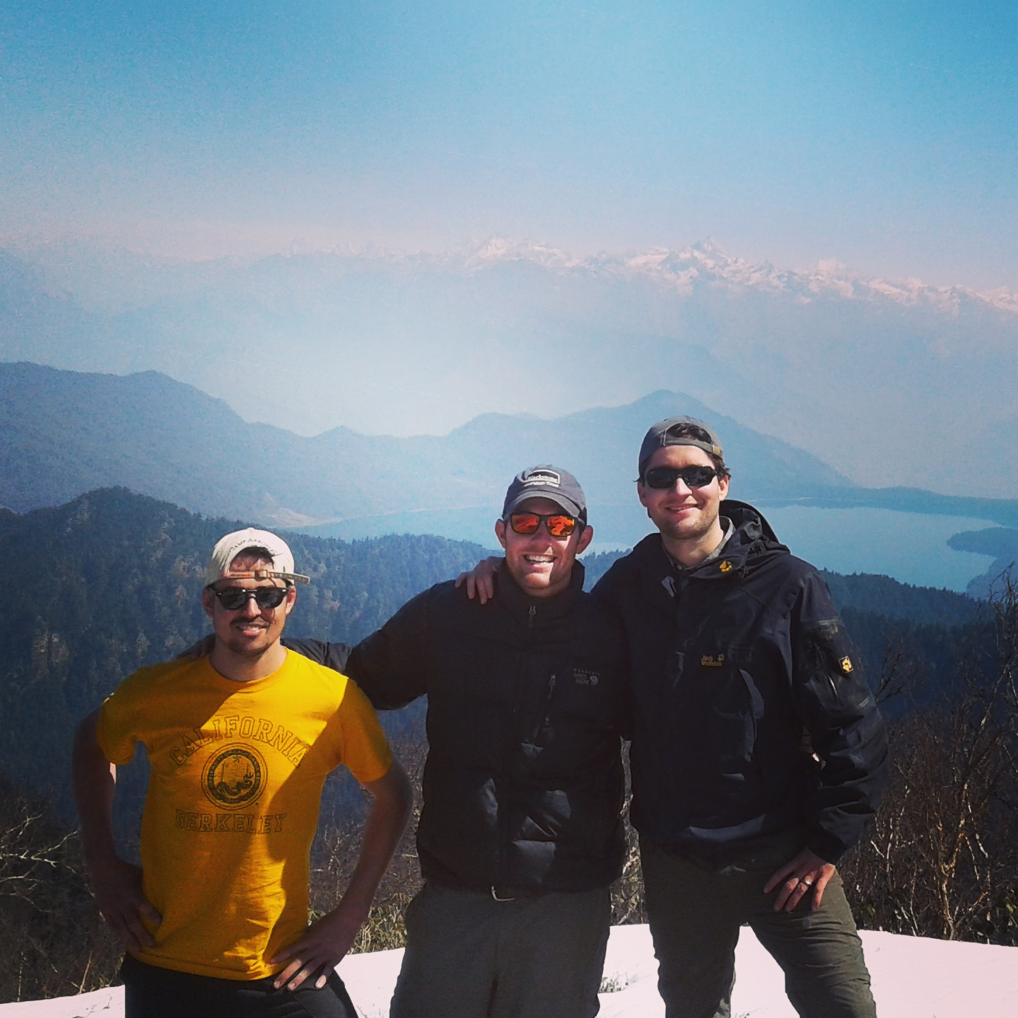 Photo overlooking Nepal's Largest Lake - Rara