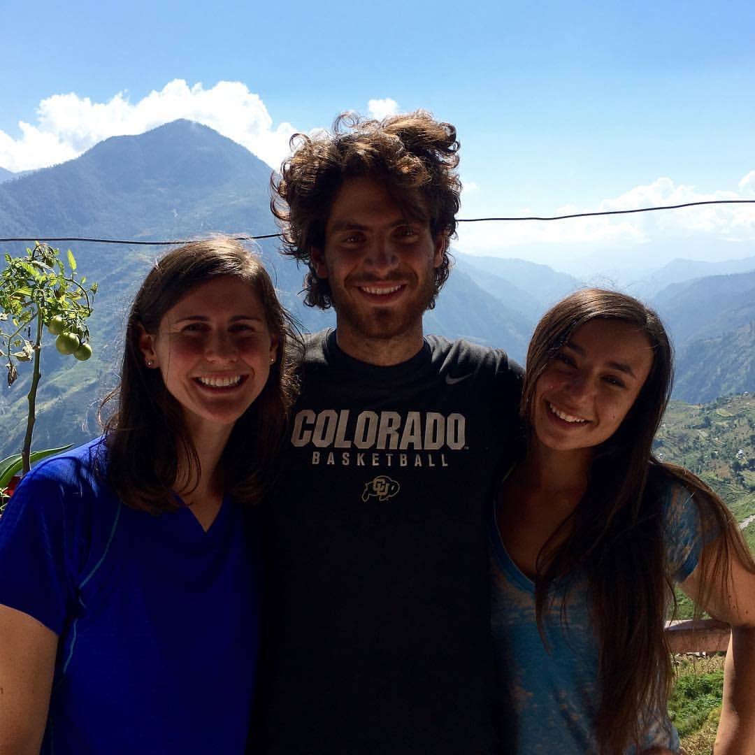 Just after arriving in Kalikot with Nick & Jade!