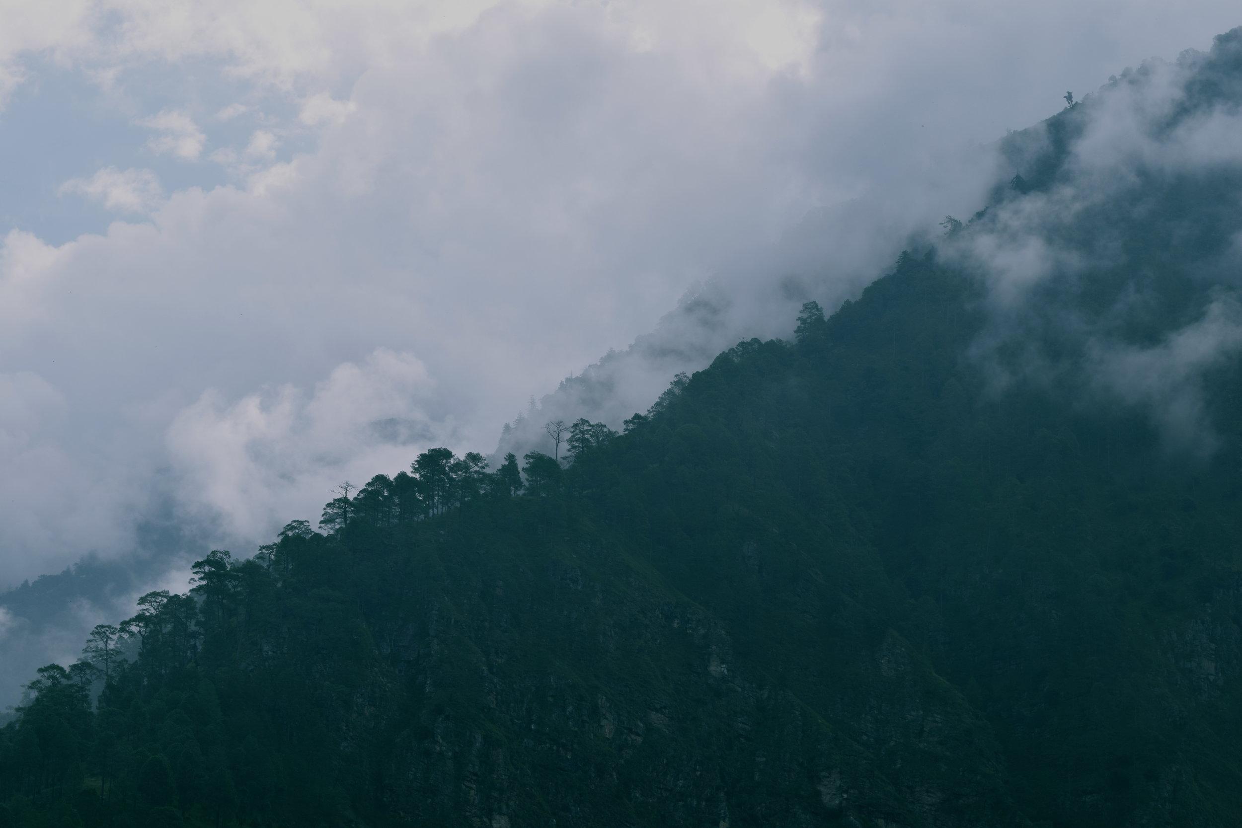 The beautiful landscape of Kalikot