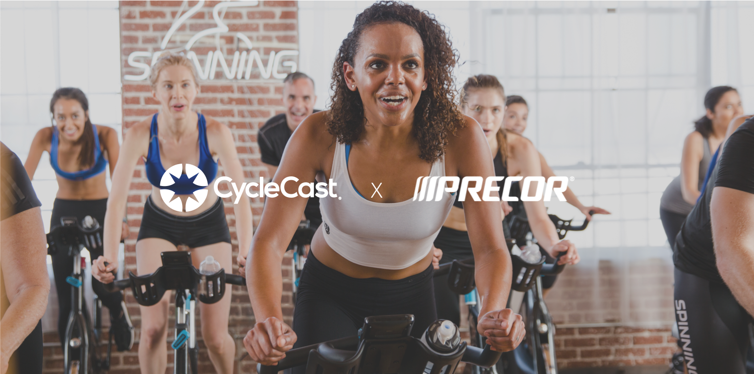 CycleCast Precor Partnership Website.png