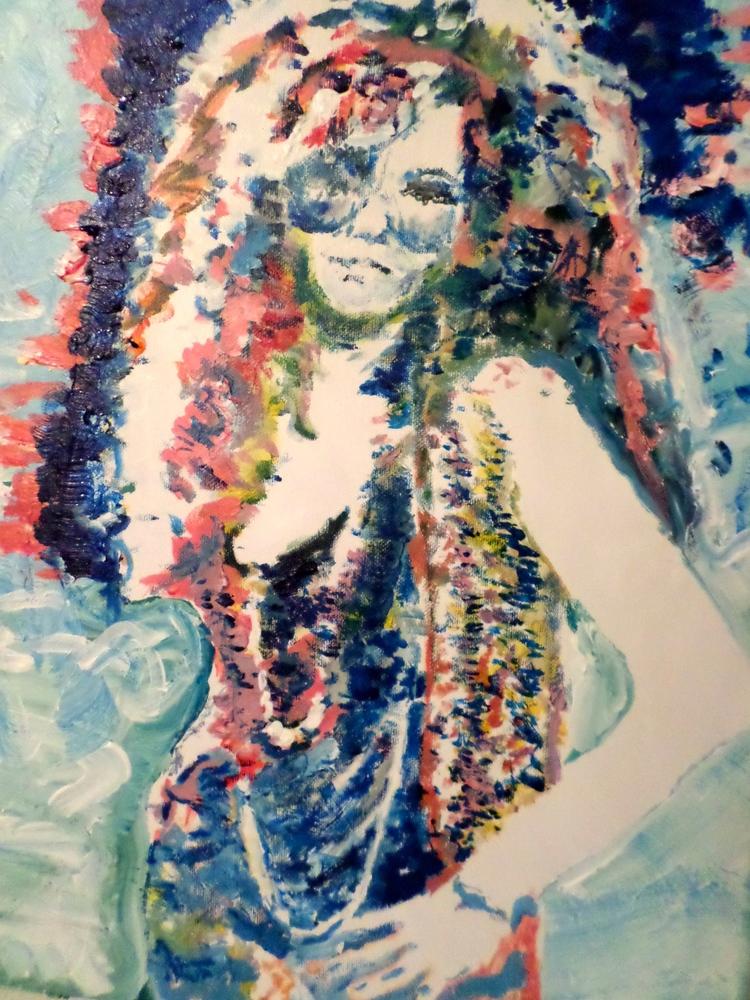 Janis Joplin, 16x20, Acrylic on Canvas