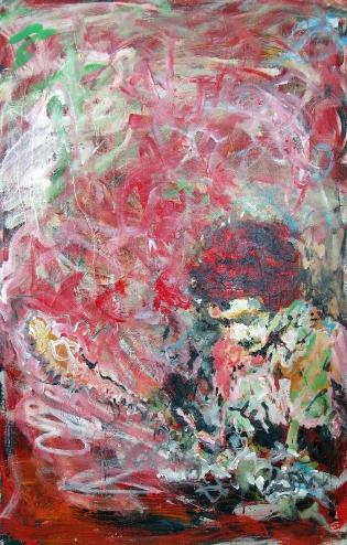 """Jimi Hendrix """"Band of Gypsys"""", 24x36, Acrylic on Canvas"""